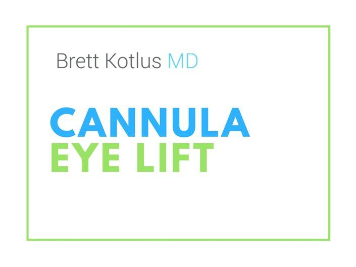cannula eye restylane
