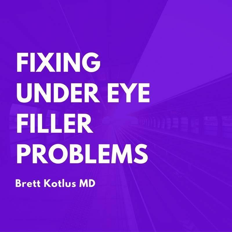 Solution: Puffy Under Eyes After Filler Injection | Dr  Brett Kotlus