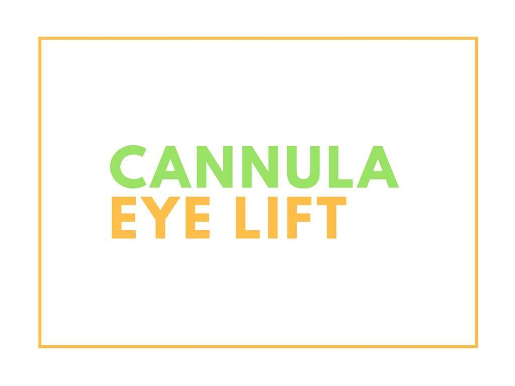 kotlus cannula eye lift